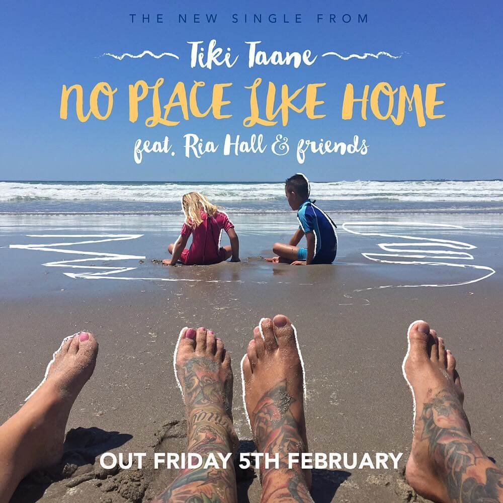 """My new single """"NO PLACE LIKE HOME"""" featuring @riahallnz & friends is out Friday 5th Feb. All proceeds go to an amazing community charity called Good Neighbour. This week with Waitangi Day & our government signing the TPPA, this song couldn't be more poignant. We must fight to protect our beautiful home, land & sea from our greedy government & corporations who don't care about us, he tangata, the people... Kia kaha Aotearoa! *tiki"""